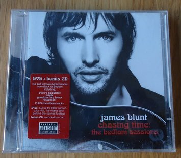 "CD + DVD ""Chasing Time: The Bedlam Sessions"" van James Blunt"